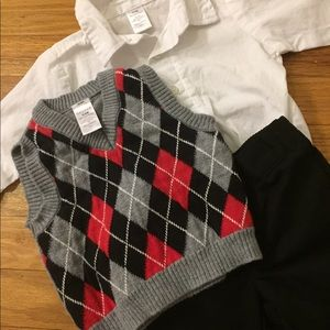 George three piece formal outfit